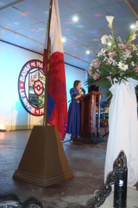 Mayor Bona delivered her 100 Days Report amid the applause of her constituents.