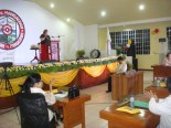 Mayor Bona Fe de Vera-Parayno's State of the Municipality Address (SOMA) was held at the Multi-Function Hall located at the 3rd Floor of the old municipal hall at 7pm  of June 30, 2014.
